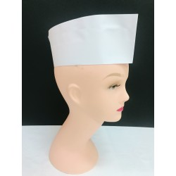 Paper Chef Hat - White